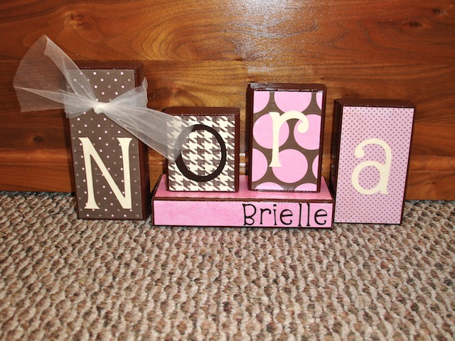 My favorite craft yet for Large wooden blocks for crafts