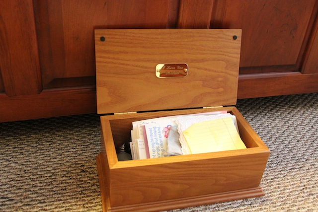 Image result for love letters box