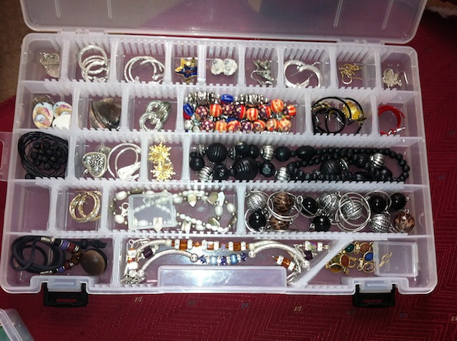 Art Tackle Box Jewelry Organizer Jewelry Ideas