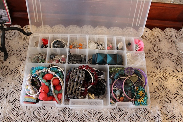 tackle box jewelry storage Works for Me Wednesday
